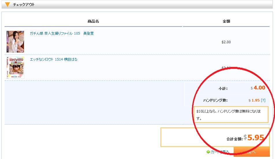 裏DVD村確認ページ画像
